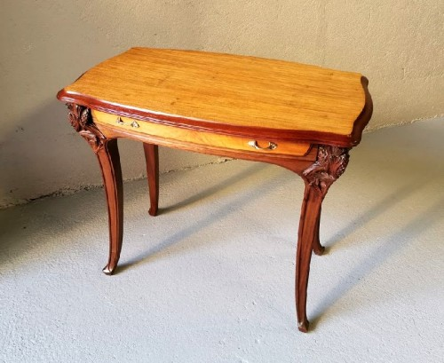 """20th century - Louis Majorelle - Tabl Desk """"Aux pins"""""""