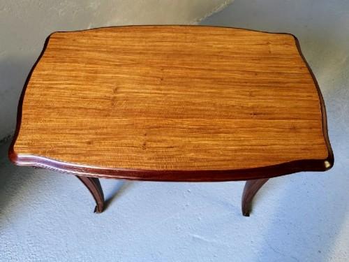 """Antiquités - Louis Majorelle - Tabl Desk """"Aux pins"""""""