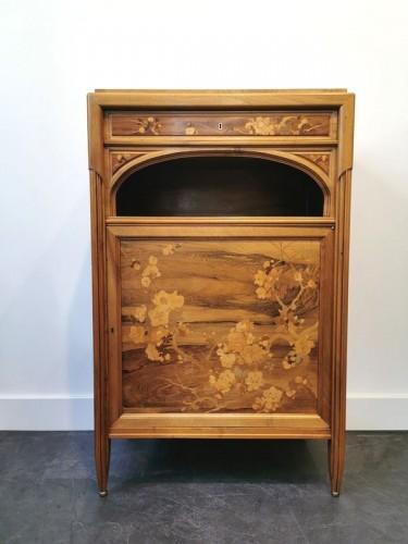 Furniture  - Emile Gallé - Meuble d'entre deux