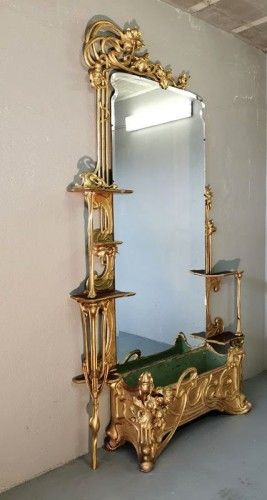 Furniture  - Art Nouveau entrance console