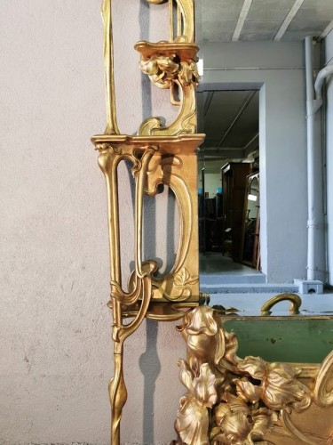 Art Nouveau entrance console - Art nouveau