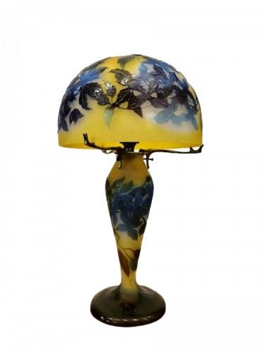 Emile Gallé - Mushroom lamp