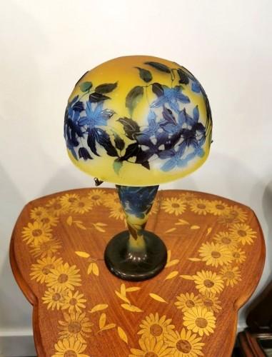Emile Gallé - Mushroom lamp - Lighting Style Art nouveau