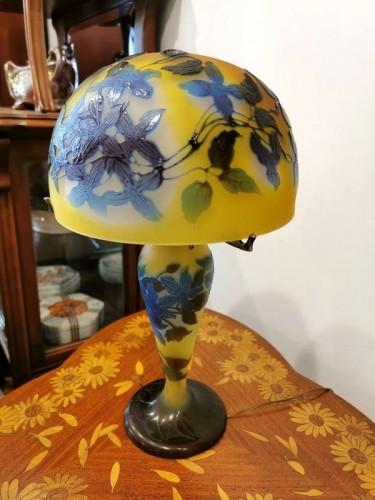 Emile Gallé - Mushroom lamp -