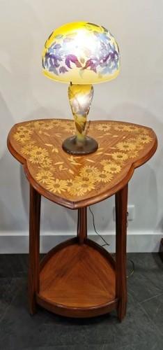 Emile Gallé - Mushroom lamp - Art nouveau