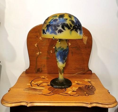Art nouveau - Emile Gallé - Mushroom lamp