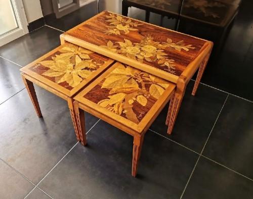Furniture  - Emile Gallé - Modernist nesting tables