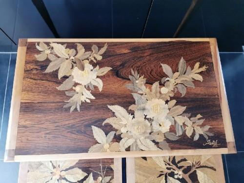 Emile Gallé - Modernist nesting tables -