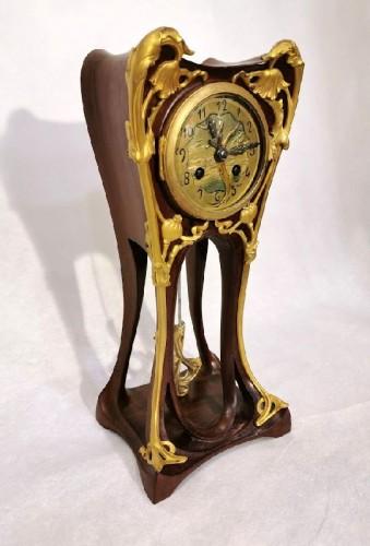Louis Majorelle - Art Nouveau clock with poppies - Horology Style Art nouveau