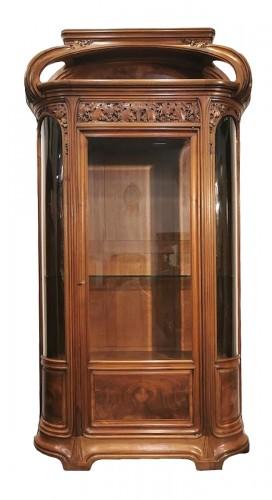 """Louis Majorelle - Art Nouveau display cabinet """"The Vine"""""""
