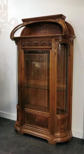 """Louis Majorelle - Art Nouveau display cabinet """"The Vine"""" -"""
