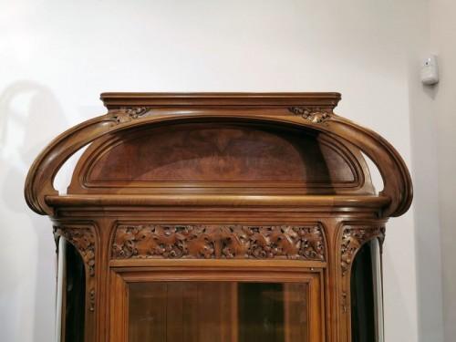 """20th century - Louis Majorelle - Art Nouveau display cabinet """"The Vine"""""""