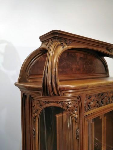 """Art nouveau - Louis Majorelle - Art Nouveau display cabinet """"The Vine"""""""