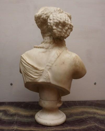 Jean Baptiste Auguste Clésinger, Marble Bust, Rome 1868 - Napoléon III