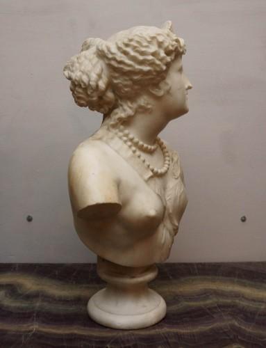 Napoléon III - Jean Baptiste Auguste Clésinger, Marble Bust, Rome 1868