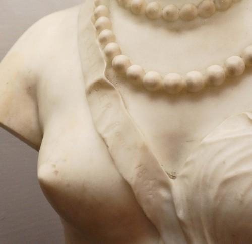 Antiquités - Jean Baptiste Auguste Clésinger, Marble Bust, Rome 1868