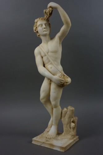 16th Century, Italian Marble Sculpture Bacchus - Sculpture Style Renaissance