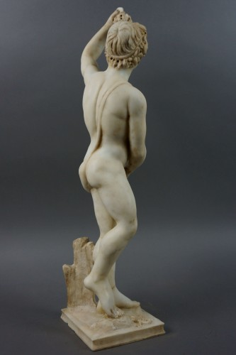 16th Century, Italian Marble Sculpture Bacchus -