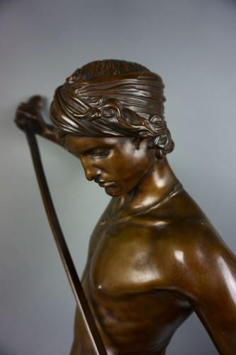 Antonin Mercié (1845-1916) -  David - Sculpture Style Napoléon III
