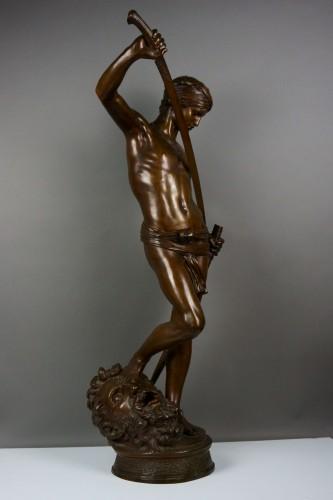 Sculpture  - Antonin Mercié (1845-1916) -  David