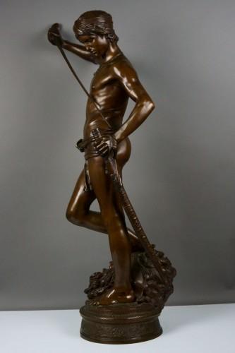 19th century - Antonin Mercié (1845-1916) -  David