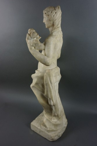 16th century - Flora, Marble Sculpture, Florence, late 16th Century