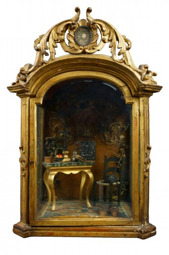 Great Reliquary Showcase with Diorama Relic of Saint Catherine of Siena, la