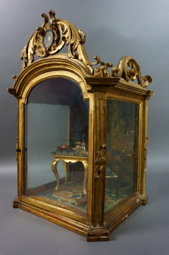 Antiquités - Great Reliquary Showcase with Diorama Relic of Saint Catherine of Siena, la
