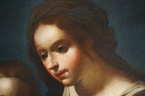 Paintings & Drawings  - Giovanni Andrea de Ferrari (Genoa, 1598-1669) - he Holy Family