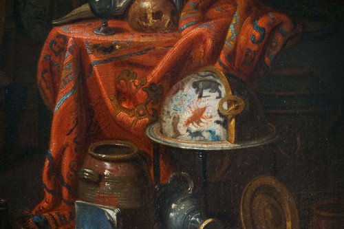 17th century - Gerard Thomas (Antwerp, 1663-1720) - The Pregnancy Test, Flemish Baroque