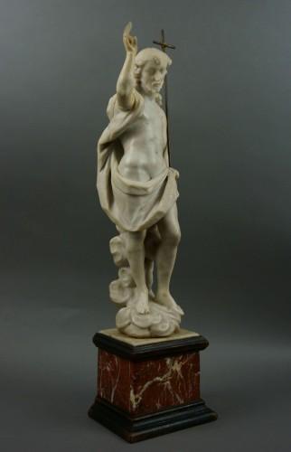 18th century, Italian Marble Sculptur Resurrected Christ - Sculpture Style