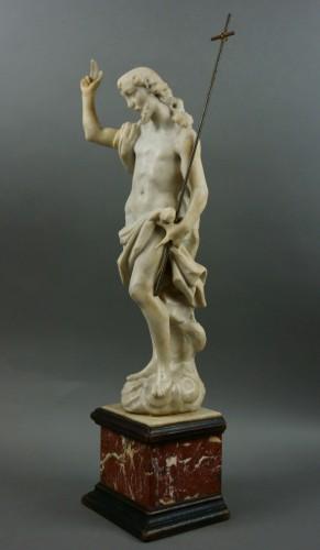 18th century, Italian Marble Sculptur Resurrected Christ -