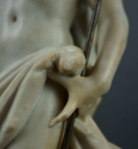 18th century - 18th century, Italian Marble Sculptur Resurrected Christ