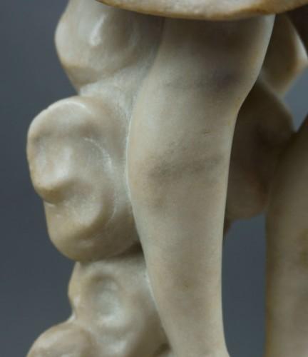 - 18th century, Italian Marble Sculptur Resurrected Christ