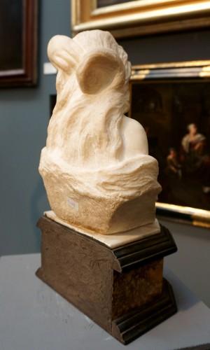17th Century Italian Marble Cleopatra Bust -