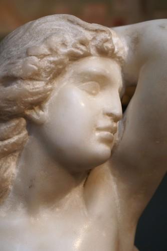 17th Century Italian Marble Cleopatra Bust - Louis XIV
