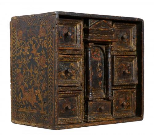 Lacquered Venetian Cabinet Persian Decor late 16th century