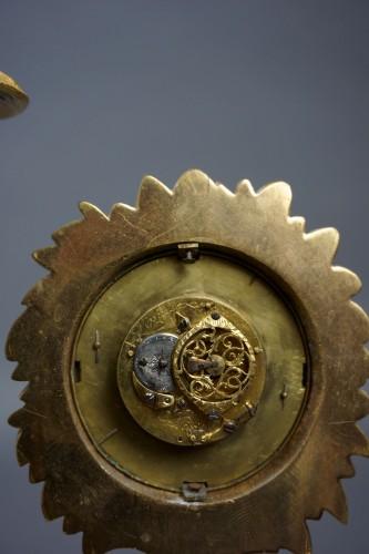 Antiquités - Au Bon Sauvage Series Ormolu Gilt Bronze Empire Mantel Clock Lépine