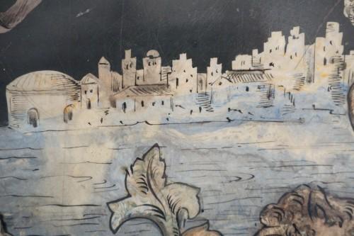 17th century - 17th Century Italian Polychrome Scagliola Table Top