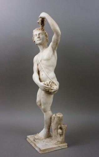 16th century Italian Mitological Marble Sculpture Bacchus - Sculpture Style Renaissance