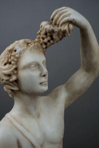 Sculpture  - 16th century Italian Mitological Marble Sculpture Bacchus