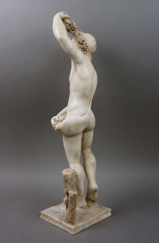 16th century Italian Mitological Marble Sculpture Bacchus -