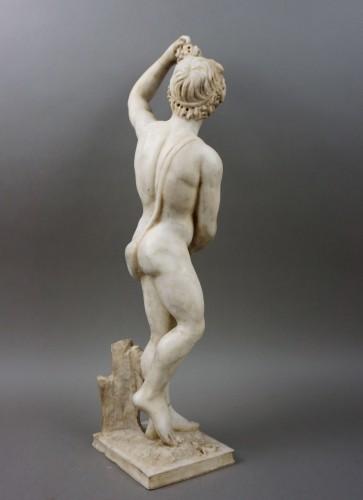 16th century Italian Mitological Marble Sculpture Bacchus - Renaissance