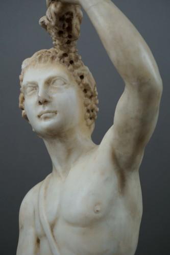 Renaissance - 16th century Italian Mitological Marble Sculpture Bacchus