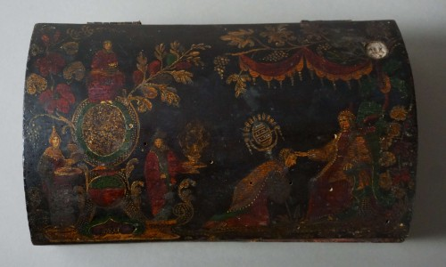 17th century Italian Venetian lacquer casket box - Objects of Vertu Style Renaissance