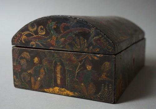 17th century Italian Venetian lacquer casket box - Renaissance