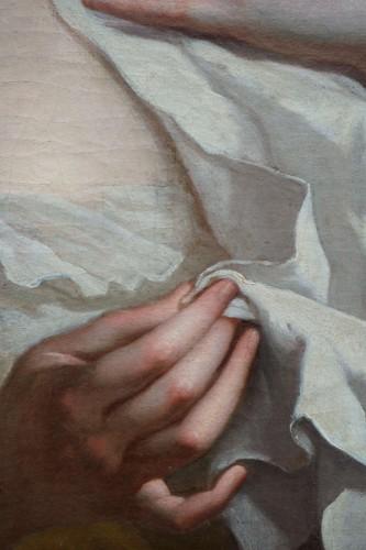 Paintings & Drawings  - Ignaz Stern (1679-1748) - Woman at Toilet Portrait