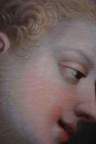 Ignaz Stern (1679-1748) - Woman at Toilet Portrait - Louis XIV