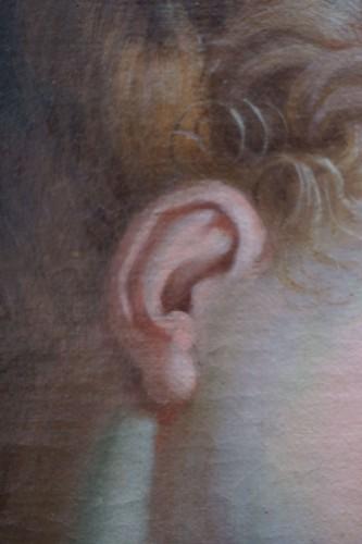 Antiquités - Ignaz Stern (1679-1748) - Woman at Toilet Portrait