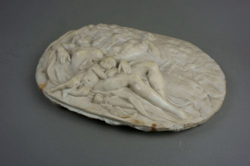 Louis XVI - Venus and Cupid - High relief in Marble, Rome Neoclassical period